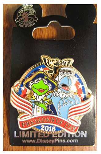 2015 Disney Parks President's Day Muppets Limited Edition Trading Pin LE 2000 ()
