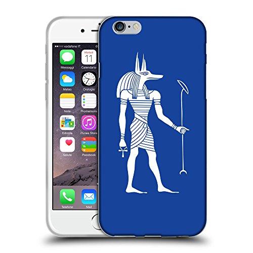 "GoGoMobile Coque de Protection TPU Silicone Case pour // Q09140613 Anubis egypt 2 Bleu // Apple iPhone 6 PLUS 5.5"""
