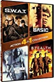 4-in-1 Action Collection - S.W.A.T./Basic/Maximum Risk/Stealth by Mill Creek Entertainment