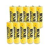 Best 18650 Batteries - Flashlight Headlamp Special Batteries,10X BXE 18650 Battery 9800mAh Review