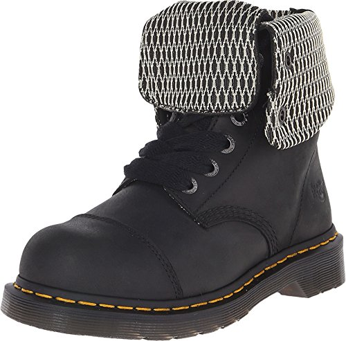 Dr. Martens Work Women's Leah Steel Toe Black Wyoming 5 B UK