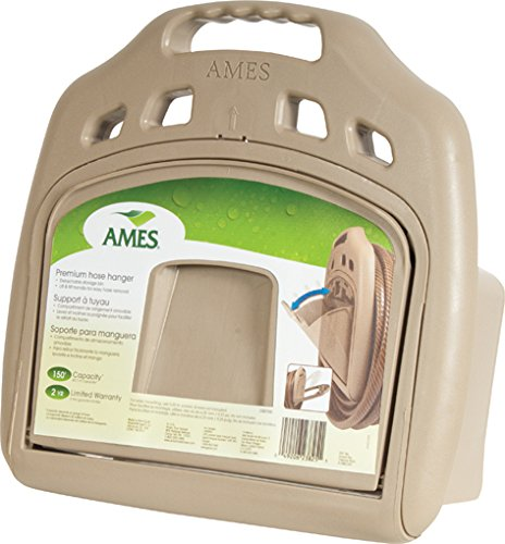 Ames Hanger (Ames 150-Foot Capacity Poly Hose Hanger with Storage Bin - 2382561)