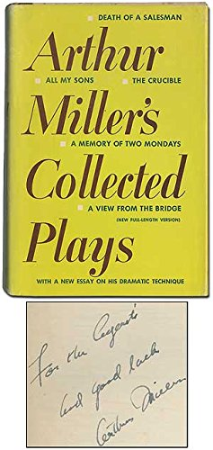 Miller, The Collected Plays of Arthur, Vol. 1