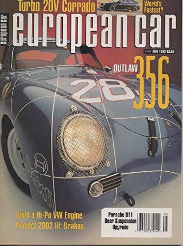 European Car Magazine, May 1992 (Vol 23, No 5)