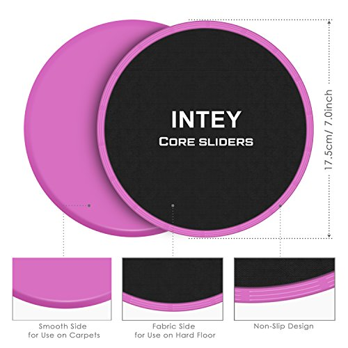 Review INTEY Exercise Sliders Fitness