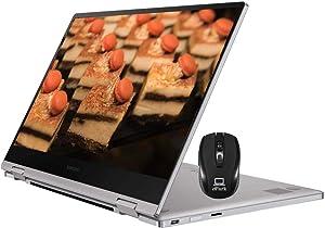 "2020 Latest Samsung Notebook 9 Pro 2-in-1 Ultra-Slim Laptop, 13.3"" FHD Touchscreen, 8th Gen Intel Core i7-8565U, 16GB RAM 2TB SSD, Thunderbolt3 Windows 10, Samsung Active Pen + ePark Wireless Mouse"