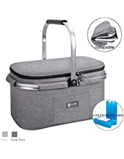 APOLLO WALKER Picnic Basket for 4 Person 31L Large Family Size