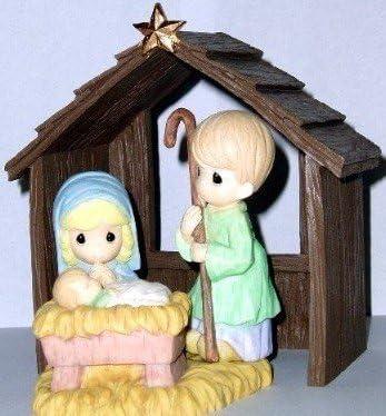 Precious Moments Porcelain Nativity Set