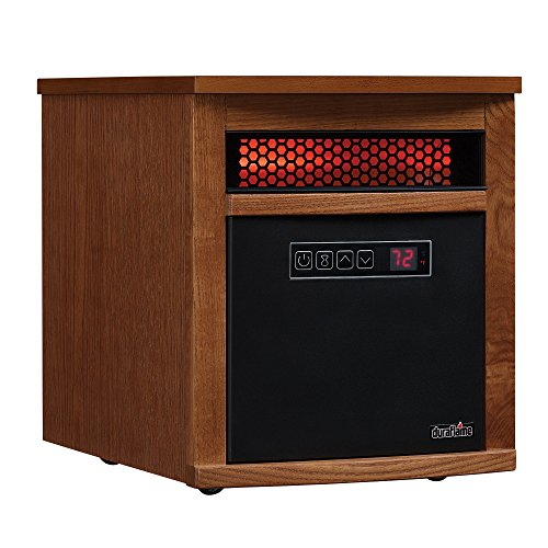 Duraflame 9HM8101-O142 Portable Electric Infrared Quartz Heater, Oak