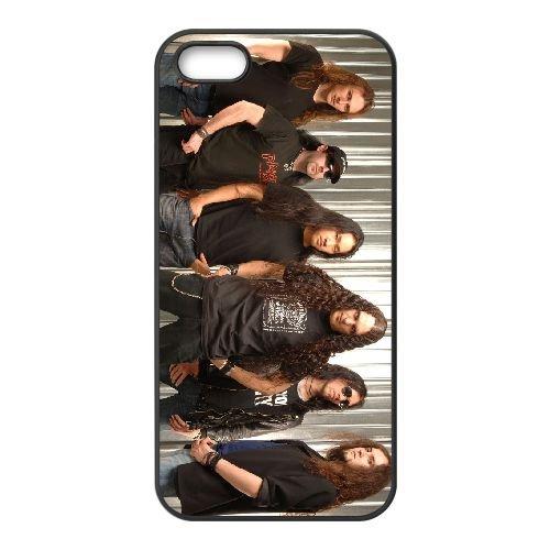 Dragonforce 006 coque iPhone 4 4S cellulaire cas coque de téléphone cas téléphone cellulaire noir couvercle EEEXLKNBC24686