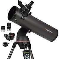 Celestron - NexStar 130SLT Computerized Telescope - Compact and Portable - Newtonian Reflector Optical Design - SkyAlign…