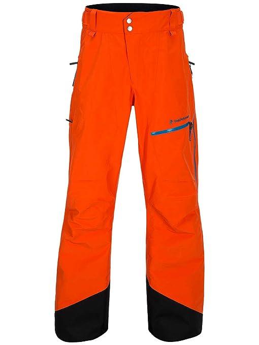 foto ufficiali 0389d 48ba5 Peak Performance pantaloni da sci, flame red, S: Amazon.it ...
