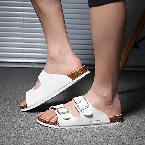 grandi anti skid cool estate bianco pantofole femmina 44 di pantofole un tide ciabatte coppie numeri Uomini fankou gXwq8P