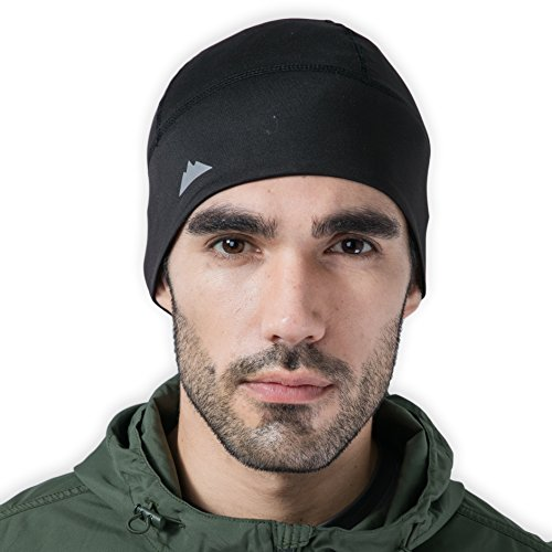 Headwear Winter Beanies (Tough Headwear Skull Cap/Helmet Liner/Running Beanie - Ultimate Thermal Retention and Performance Moisture Wicking. Fits under Helmets)