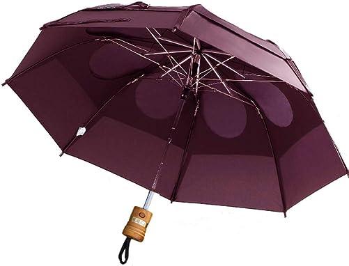 GustBuster Metro 43″ Canopy Personalized Automatic Wind Resistant Rain Umbrella BUR