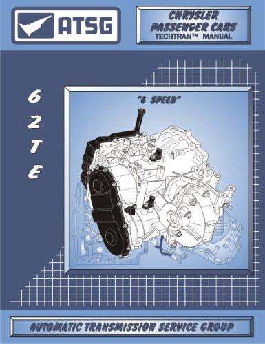 ATSG CHRYSLER 62TE Transmission Repair Manual (62TE Dipstick - 62TE Filter - Repair Shops Save Now On Rebuild Costs - Best Repair Book Available!)