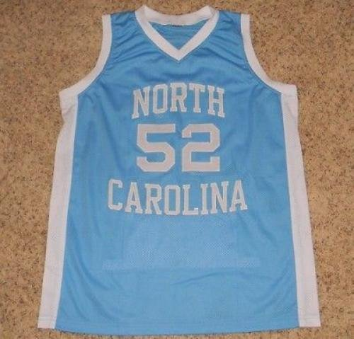 d337ffbab71 James Worthy Signed Jersey - Unc  52 Stat - JSA Certified - Autographed  College Jerseys at Amazon s Sports Collectibles Store
