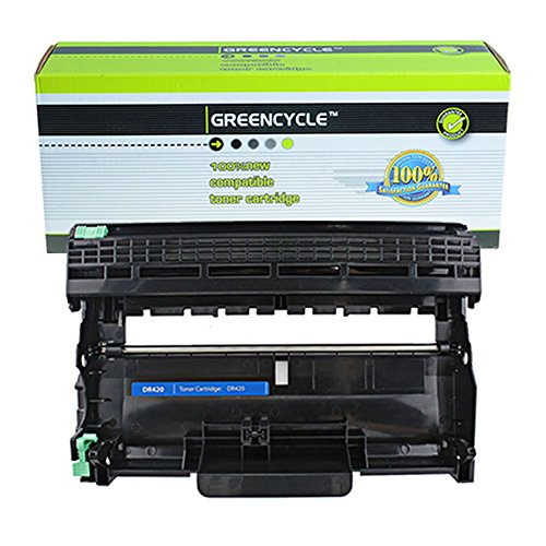 GREENCYCLE 10 Pack Compatible Brother DR420 Drum Unit Bla...