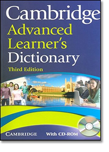 Cambridge Advanced Learner's Dictionary with CD-ROM: Amazon.co.uk: Cambridge  University Press: 9780521712668: Books