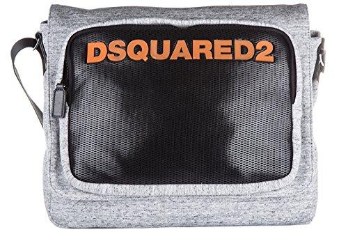Dsquared2 bolso con bandolera hombre nuevo antony gris