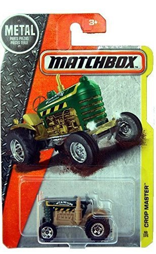 (Matchbox 2016 Crop Master (Tractor) 40/125, Green)