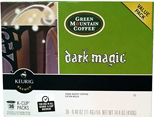 - Green Mountain Coffee 36 Count K-Cup Value Pack (Dark Magic)