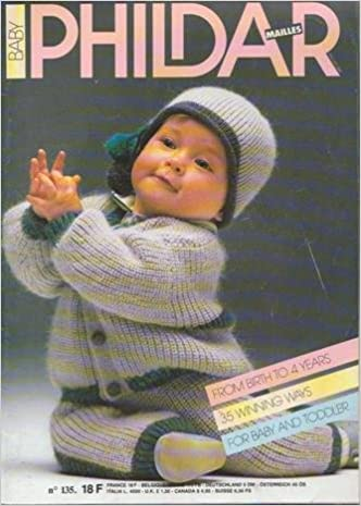 Phildar Mailles Knitting Pattern Booklet 135 Birth To 4 Years 44