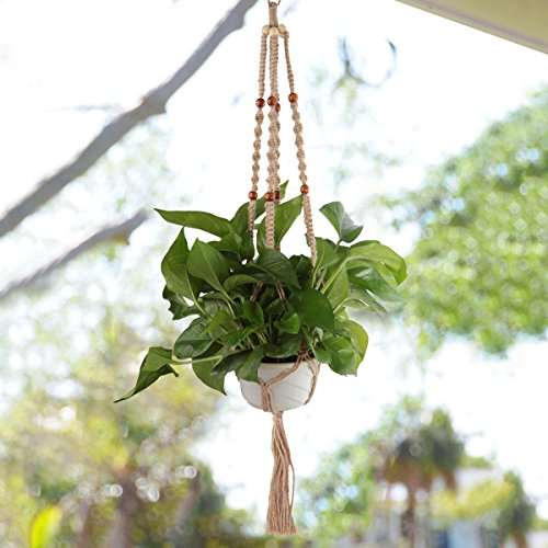 upmagic-macrame-plant-hangers-indoor-outdoor-hanging-planter-basket-four-hemp-rope-4-legs-40-inches-