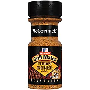 McCormick Grill Mates Steakhouse Onion Burger, 3.12 oz