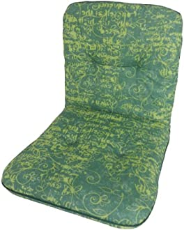 Beo garden furniture pad turquoise water-repellent for low back AUB22