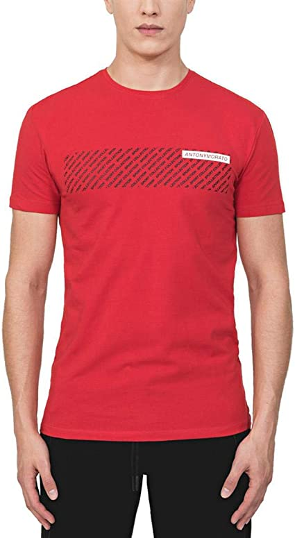 Antony Morato Camiseta Sport Collection roja hombr
