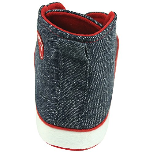 Forfoot Womens Ladies Winter Warm Indoor House Shoes Sneaker Slippers Anti-Skid Navy Blue YHw3kYx6f