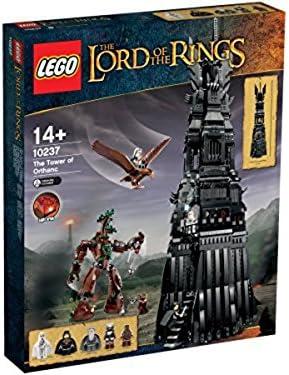 LEGO - Juego de construcción con diseño Torre de Orthanc El Señor ...