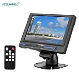 FEELWORLD FW639AH 7'' TFT LCD HD Monitor with HDMI VGA AV Input for Video DSLR Camera with Car Adapter Remote Controller Sunshade