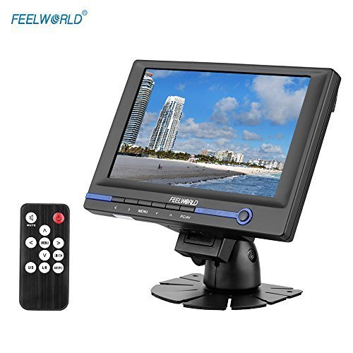 "FEELWORLD FW639AH 7"" TFT LCD HD Monitor with HDMI VGA AV Inp"
