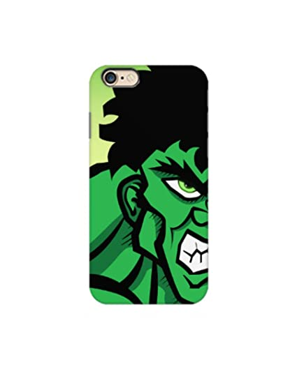 pretty nice 12fae ee434 Hulk Phone case for iPhone 6 Plus by Paintcollar.com: Amazon.in ...