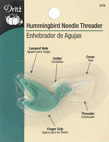 Dritz 270  Hummingbird Needle Threader-Green