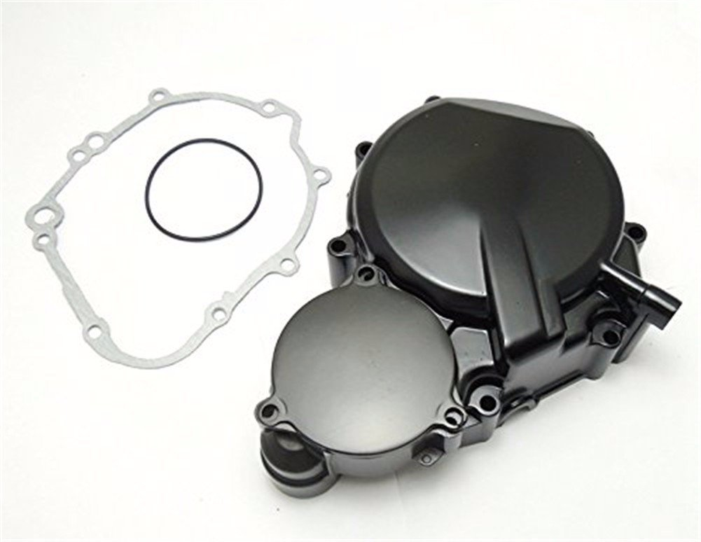 HK MOTO- For Suzuki GSXR 600/750 2006-2013 Engine Stator cover BLACK Left w/ Gasket