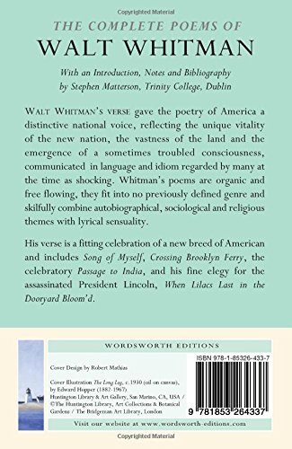 The Complete Poems Of Walt Whitman Wordsworth Poetry Library