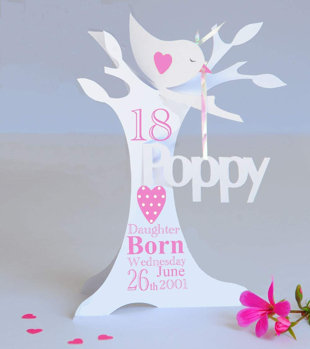 Niece Granddaughter A... Goddaughter Personalised 21st Birthday Card Daughter