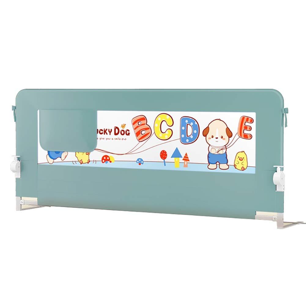 ベッドフェンス- 幼児用スイングダウンベッドレールガード、強化されたアンカー安全システム付きの長いシングルベッドレール、高さ調節可能 (サイズ さいず : 180x75cm) 180x75cm  B07P6KXRQV