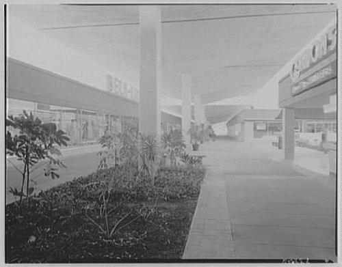 Photo: Cortez Plaza Shopping Center,Bradenton,Florida. Mall through - Bradenton Mall
