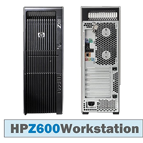 HP Z600 Workstation TWR/DUAL CPU Xeon E5620 @ 2 40 GHz/8GB