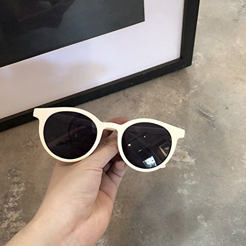 Circular Gafas Gafas Polarizador Sol C1 De Antiguo zhenghao De Sol C2 Marco Mujer Xue Gran Sombrillas wSz5xqI4