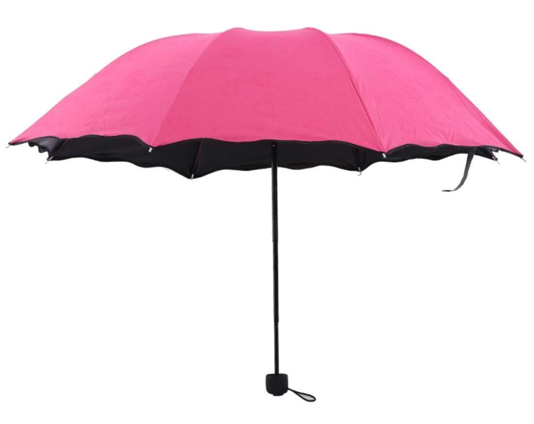 Generic Windproof Waterproof Lightweight Umbrella, Compact Travel Umbrellas for Women & Men 1 OS