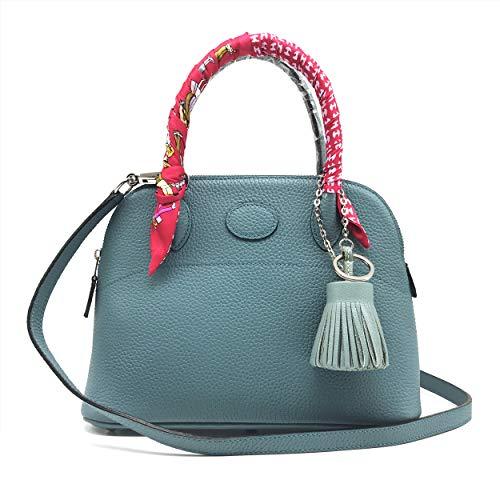 Blue Jean Birkin - LUX TOGO BOLID BAG 27, BLUE JEAN Genuine Leather Premium Calfskin Womens Korean Handbag