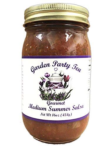 (Gourmet Medium Summer Salsa 16oz Jar)