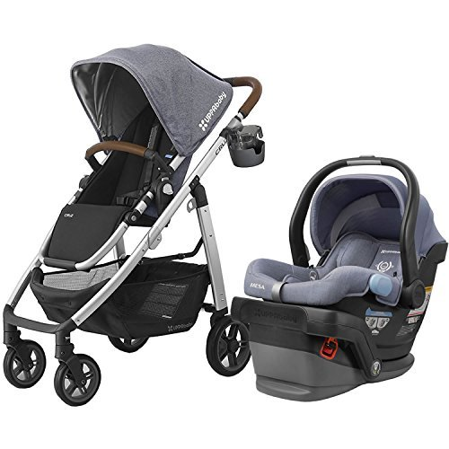 UPPAbaby 2017 Cruz Stroller with Mesa Car Seat - Gregory/Henry