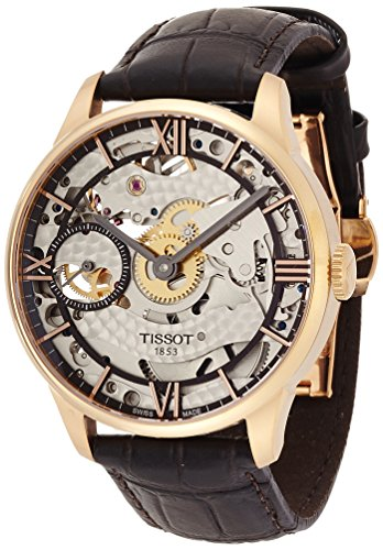 Tissot Chemin Des Tourelles Squelette Automatic Male Watch T0994053641800