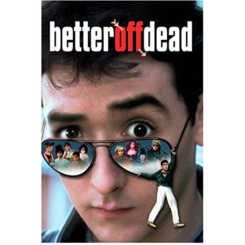 Better Off Dead full color movie poster starring John Cusack 8 x 10 Inch Photo
